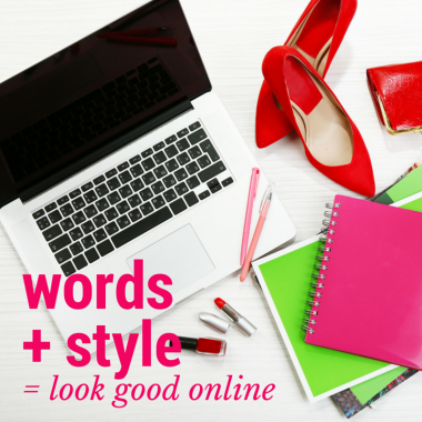 words + style = look good online - EC Writing Services 0427366824